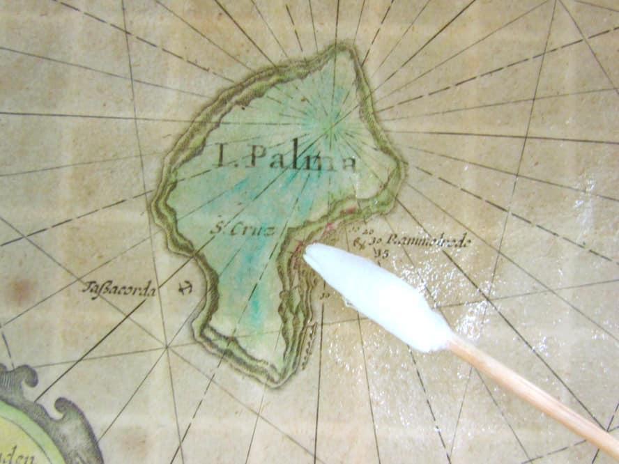 cartografías perteneciente al Museo Insular