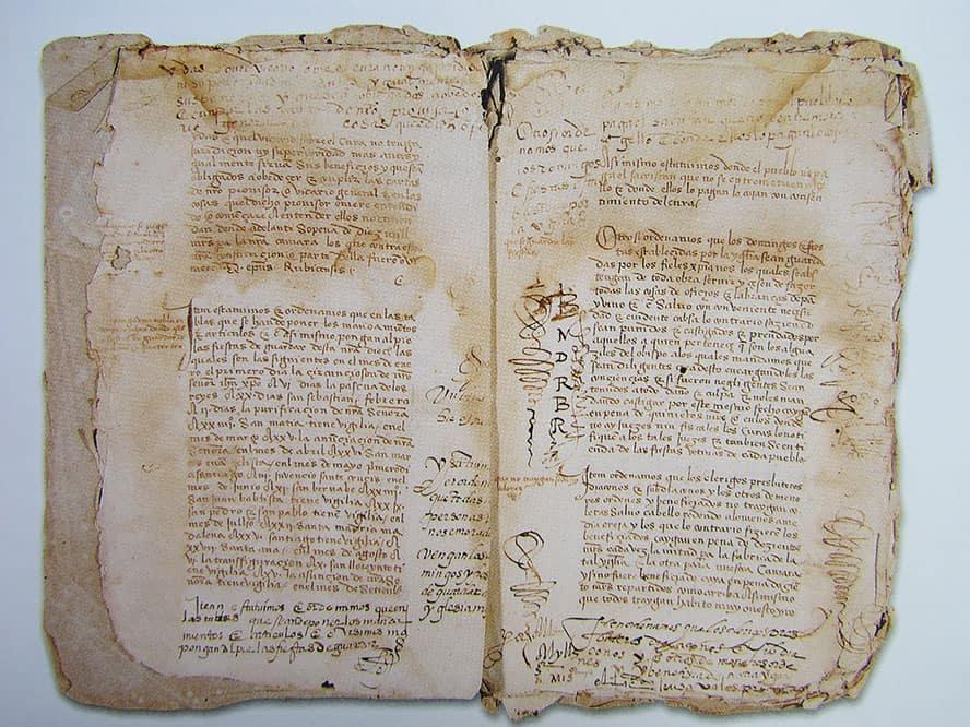 Constituciones Sinodales del Obispo Diego de Muros